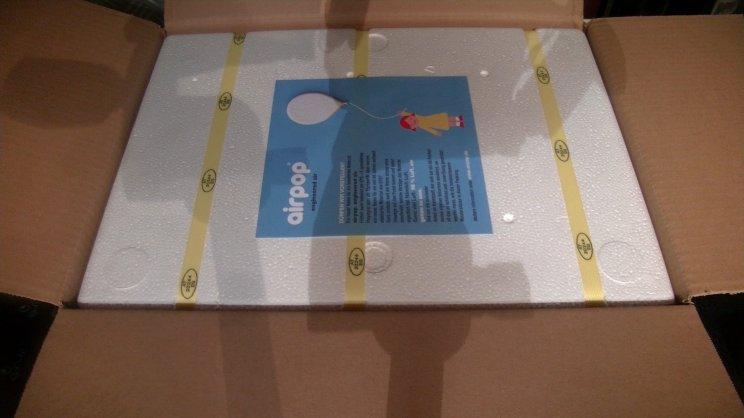 Paketöffnung_oberseite_Styroporbox