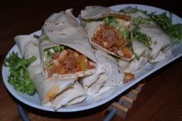 Tortillas Tex-Mex style